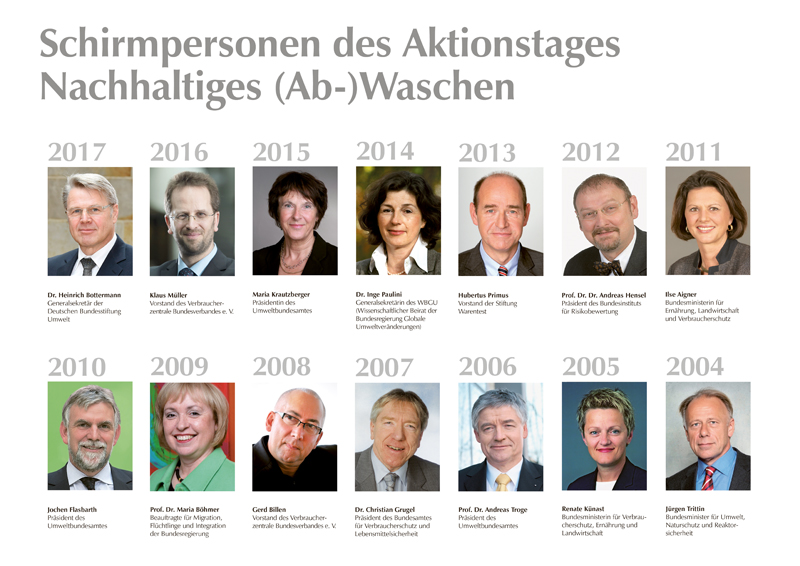 Schirmpersonen Aktionstage 2017 - 2004